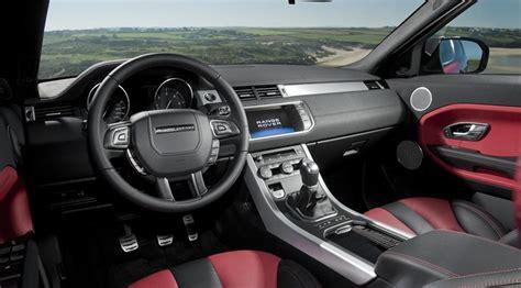 land rover evoque interior photos range rover evoque si4 dynamic 2012 review by car magazine