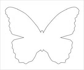 large butterfly template printable 7 best images of free printable butterfly template