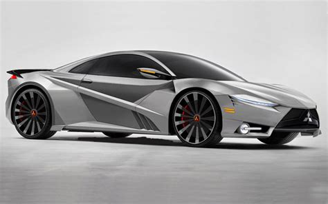 2017 Mitsubishi 3000gt Concept Rendered Car Models 2017