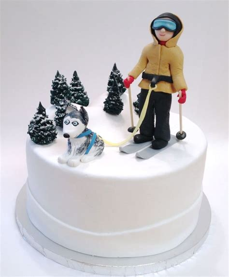 Mountain Home Decorating top skiing cakes cakecentral com