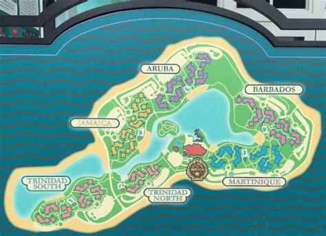 caribbean resort map resort map picture of disney s caribbean resort