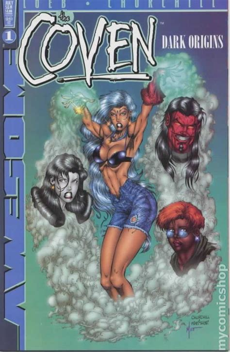 coven books coven origins 1999 comic books
