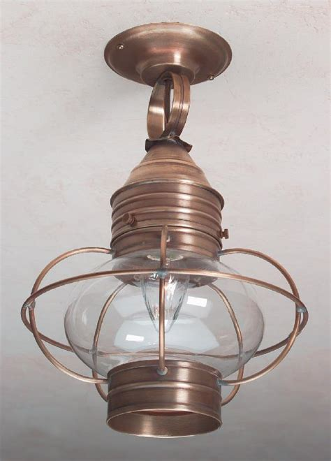 Colonial Ceiling Onion Lanterns Lantern Rustic Colonial Ceiling Lights