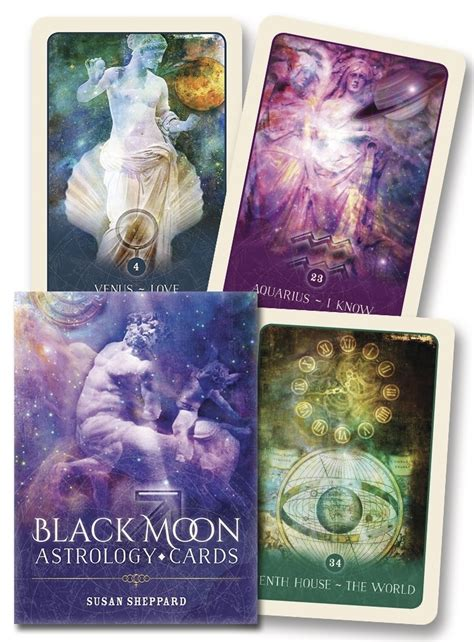 black moon astrology cards books llewellyn worldwide black moon astrology cards product