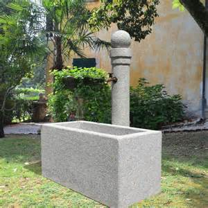 garten steinbrunnen stilvoller steinbrunnen 187 aversa 171 gartentraum de
