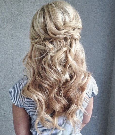 Curled Half Up Half Hairstyles by 36 Wedding Hairstyles That Inspire