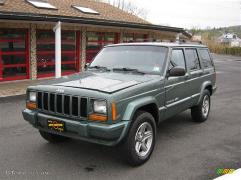 jeep cherokee green 2000 2000 medium fern green metallic jeep cherokee classic 4x4
