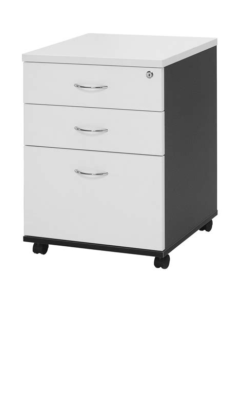 Desk With Lockable Drawers by Mobile Pedestal 2 Drawer 1 File With Lock Furniture