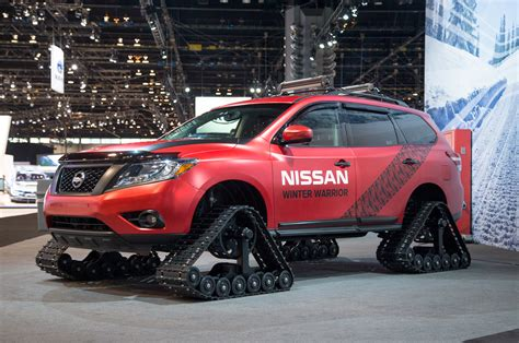 nissan winter nissan winter warrior concepts braves chilly chicago