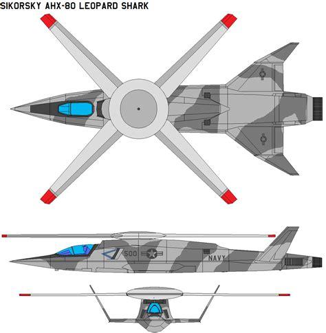 Blueprint Design sikorsky ahx 80 leopard shark by bagera3005 on deviantart