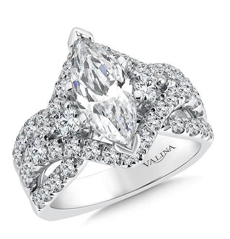 Marquise Engagement Ring by Shira Diamonds Marquise Engagement Ring