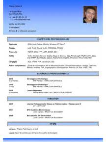 Curriculum Vitae Publications by Exemple De Cv Chef De Projet Multim 233 Dia