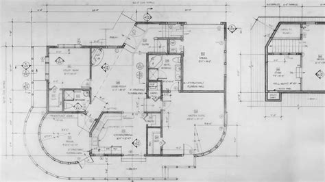 technical drawing floor plans