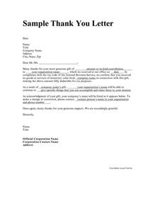 Cover And Thank You Letters by Personal Thank You Letter Crna Cover Letter