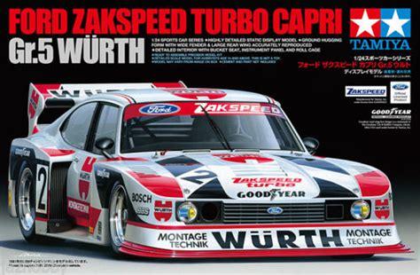 Tamiya Nascar Speed tamiya 24329 1 24 scale car model kit ford zakspeed turbo wurth