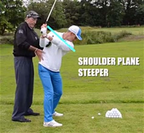 golf swing shoulder plane critical review