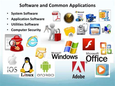 computer software b computer basics