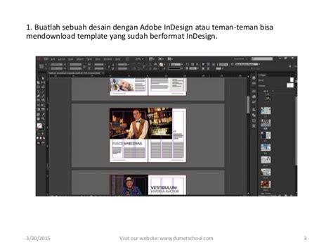 membuat layout buku dengan adobe indesign kursus in design membuat animasi buku dengan adobe indesign