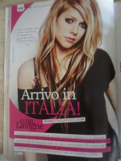 Avril Lavigne Does Day Magazine by Avril Lavigne Gracing On The Cover Of Top Magazine