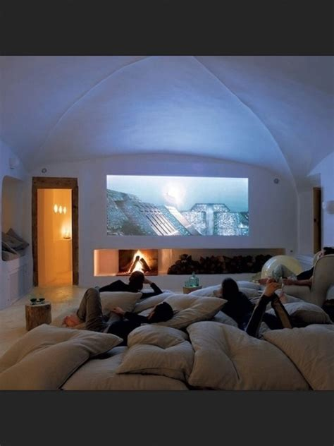 projector bedroom play room theater room keep lots of oversized pillows