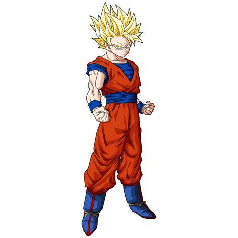 imagenes de goku umano personajes de dragon ball transformaciones de goku