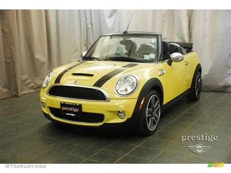 Mini Cooper Yellow by 2009 Interchange Yellow Mini Cooper S Convertible