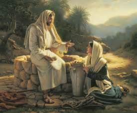 Garden Of Gethsemane Craft - living water jesus and the samaritan woman