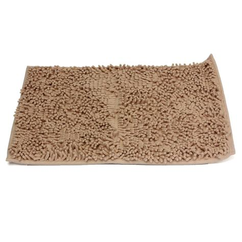 Washable Bathroom Rugs Washable Bathroom New Shaggy Rugs Non Slip Bath Mat Thick 40x60cm Chagne Ebay