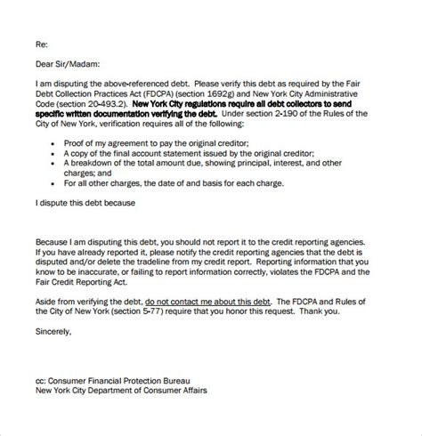 Business Letter Format For Collections sle debt collection letter format my