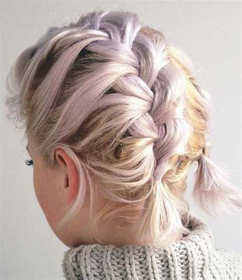 Lovable Short Braided Hairstyles for Ladies   Love this Hair