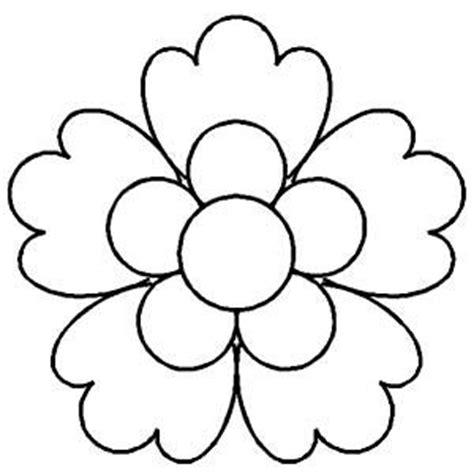 new year flower template flower pattern flower template merry