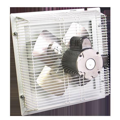 in wall exhaust fan for garage gft 18 through wall garage fan cool my garage
