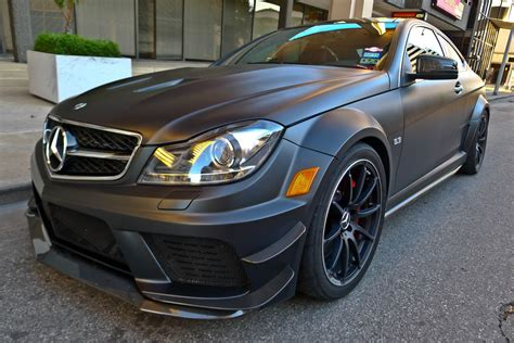 Mercedes C63 For Sale by 2012 Mercedes C63 Black Series With Track Pack
