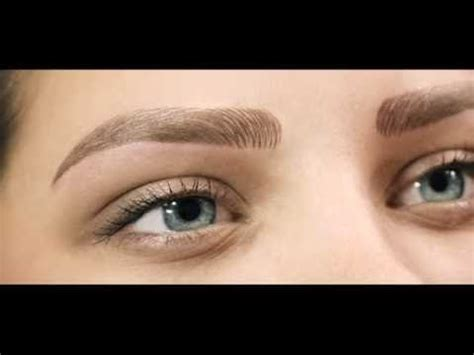 tattoo eyebrows tutorial hd eye brows hair by hair permanent makeup tutorial