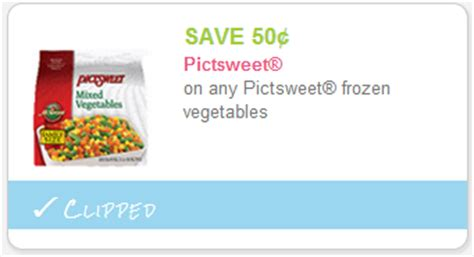printable frozen vegetable coupons new month new coupons pages and pages of sweet new