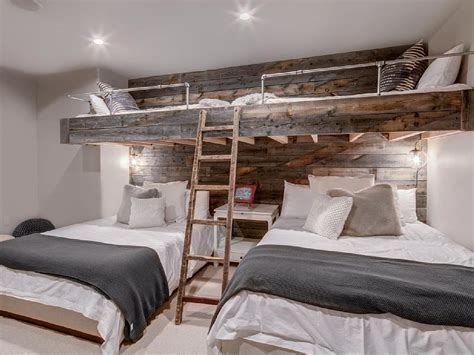 bunk bed room these cool built in bunk beds will you wanting to