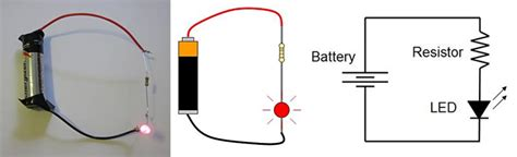 battery resistor circuit led glove get the started with your own interactive light show