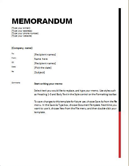 24 Free Editable Memo Templates For Ms Word Word Excel Templates Microsoft Word Memorandum Template