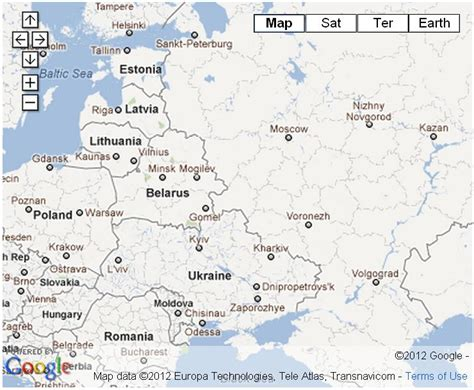 europe and russia map lab travel information laboratory of algorithms and