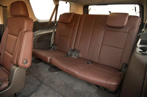 chevrolet suburban 8 seater interior 2015 chevrolet suburban gmc yukon denali xl first test