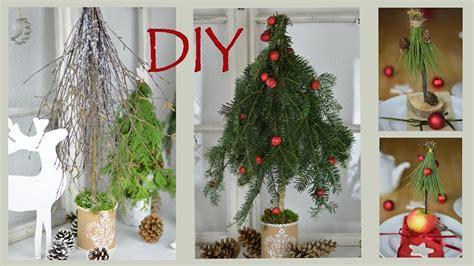 Weihnachtsdeko Garten Diy by Diy Weihnachtsdeko Selber Machen B 228 Ume Aus Zweigen Und