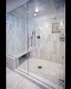 Steam Shower And Bath Carerra Marble Custom Steam Shower Master Bath Pinterest