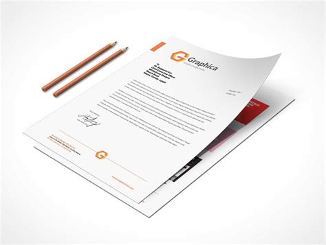 business letter mockup business letterhead mockup 28 images letterhead and