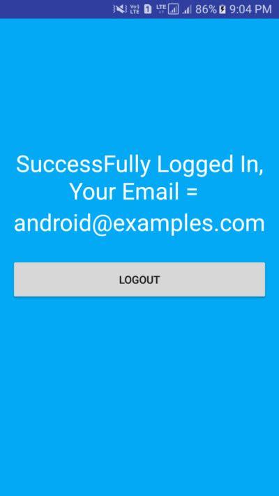 tutorial php login registration android login registration with php mysql exle tutorial