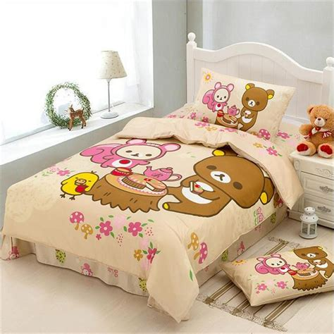 kawaii comforter aliexpress com buy japanese cartoon kawaii bear