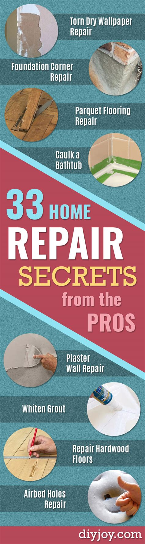 33 home repair secrets from the pros diy