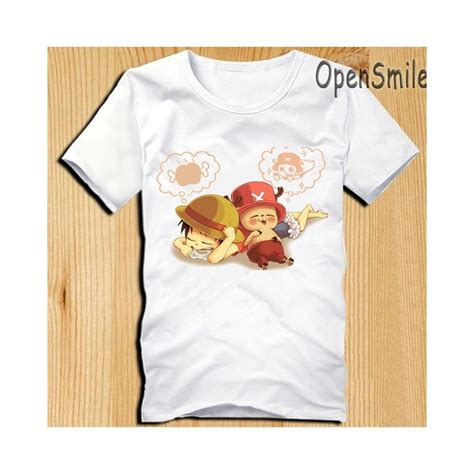 One Luffy T Shirt one t shirts chopper luffy t shirt anime t shirt