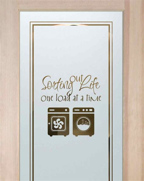 Laundry Room Doors Frosted Glass Washer Dryer Laundry Room Doors Sans Soucie