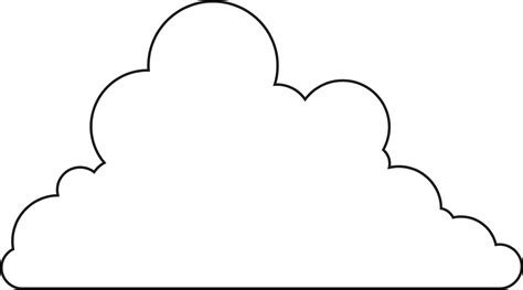 templates  clouds clipart