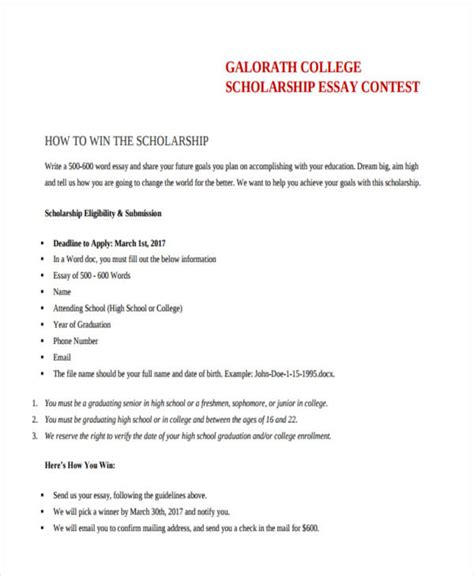 Essay Writing Contest Scholarships by Essay Contest Scholarship 2011